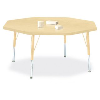 Jonti Craft Berries Octagon Activity Table (48 x 48) 6428JC251 Size 14 H