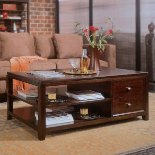 American Drew Tribecca Rectangular Coffee Table Multicolor   912 910