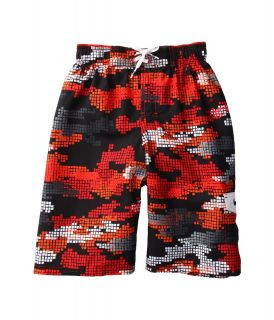 Nike Kids Tech Camo Volley Short Boys Swimwear (Red)