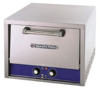 Bakers Pride Countertop Pizza / Pretzel Oven, (2) 18 in Ceramic Decks, 120 V
