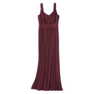 Merona Petites Sleeveless Maxi Dress   Berry LP
