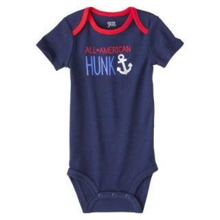 Just One YouMade by Carters Newborn Boys Single Bodysuit   Alpha Blue 9 M