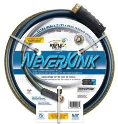 Teknor 5/8x75 Neverkink Heavy Duty Hose (black/blue Size 75 foot Set IncludesOne (1) hose 75 foot Set IncludesOne (1) hose )