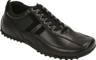 Mens Deer Stags Donald   Black Lace Up Shoes