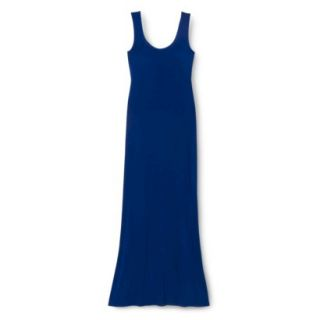 Merona Petites Sleeveless Maxi Dress   Blue MP