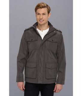 Kenneth Cole Reaction Field Jacket Mens Coat (Gray)