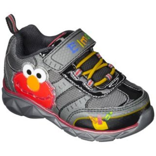 Toddler Boys Sesame Street Elmo Sneakers   Black 7