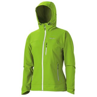 Marmot Tempo Soft Shell Jacket (For Women)   GREEN ENVY/WHITE (M )