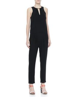 Womens Lana Sleeveless Drop Waist Jumpsuit   Rag & Bone
