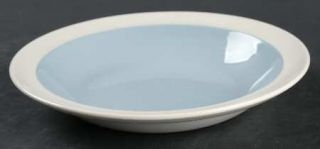 Wedgwood Summer Sky Blue & White Rim Soup Bowl, Fine China Dinnerware   Blue Cen