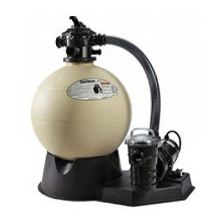 Pentair PNSD0035DD11X0 Sand Dollar Aboveground Sand Filter System, 0.75 HP 1.4 Sq. Ft Filter Area