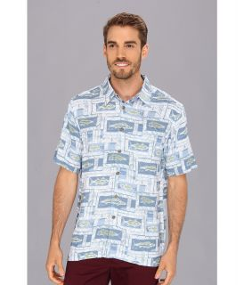 Quiksilver Waterman Bellair Beach S/S Shirt Mens Long Sleeve Button Up (Multi)