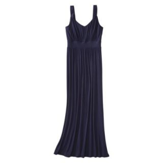 Merona Petites Sleeveless Maxi Dress   Navy XLP