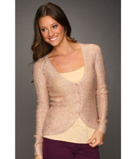 DEPT Sequin Knitted Cardigan Womens Sweater (Khaki)