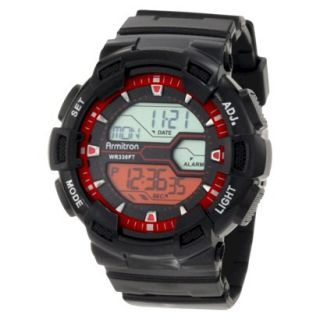 Mens Armitron Digital Sport Watch   Black