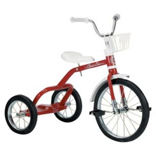 Italtrike 16 Spoked Wheel Tricycle Red