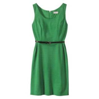 Merona Petites Sleeveless Fitted Dress   Green SP