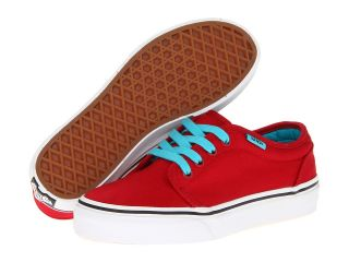 Vans Kids 106 Vulcanized Boys Shoes (Red)