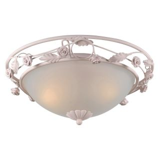 Crystorama 5330 BH Paris Flea Market Flush Mount Ceiling Light   18W in.