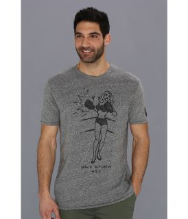 Lucky Brand Knock Out Tee Mens T Shirt (Black)