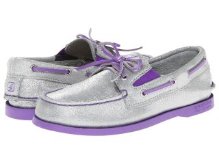 Sperry Top Sider Kids A/O Gore Girls Shoes (White)