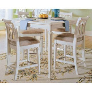 American Drew Camden White Counter Height Stools   Set of 2   ADL4346