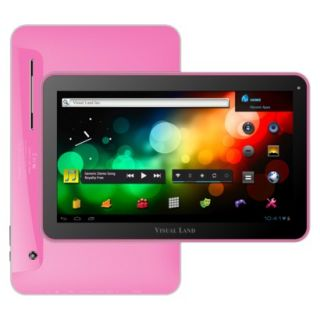Visual Land Prestige 10 Android Tablet (ME 110 16GB PNK) with 16GB Internal