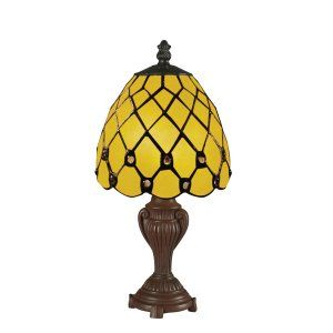 Z Lite ZLT Z6 8MTL Mini Lamps Mini Tiffany Table lamp