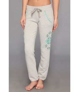 Lucky Brand Embellished Sweatpant Womens Casual Pants (Silver)
