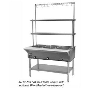 Eagle Group 33 Hot Food Table   (2) 12x20 Dry Wells, Burner Controls, LP