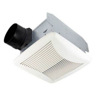 Nutone 80NT Bathroom Fan, 80 CFM 1.5 Sones Energy Star Rated for 4 Duct