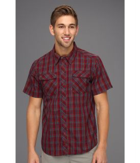 Mountain Hardwear Yohan S/S Shirt Mens Short Sleeve Button Up (Brown)