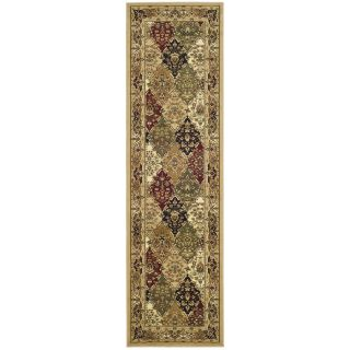Safavieh Lyndhurst Multi colored/ Black Rug (23 X 22)