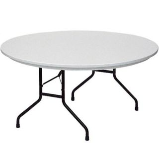 Correll 60 in. Round Commercial Grade Blow Molded Folding Table   R60 23