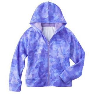 C9 by Champion Girls Tech Fleece Full Zip Hoodie   Zen L