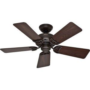 Hunter HUF 52067 Hudson Small Room or Office Ceiling fan