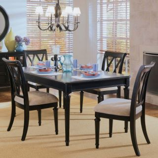 American Drew Camden Splat Back Dining Side Chairs   Set of 2 Multicolor