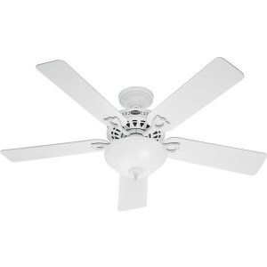Hunter HUF 53059 The Astoria Large Room Ceiling Fan with light