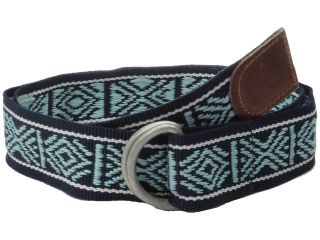 Lucky Brand Webbing Belt Mens Belts (Blue)