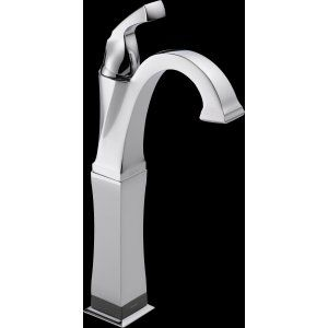 Delta Faucet 751T DST Dryden Single Handle Vessel Lavatory Faucet with Touch20.x