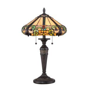 Quoizel TF1572TIB Tiffany Harland Tiffany Table Lamp