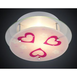 Elk Lighting ELK 21002 2 Novelty NOVELTY 2 Light HEART SEMI FLUSH