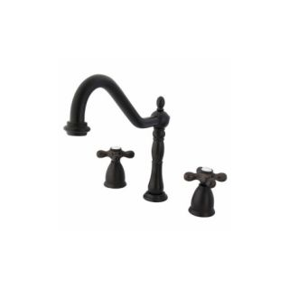 Elements of Design EB1795AXLS New Orleans Two Handle Kitchen Faucet