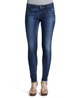 Womens High Rise Skinny Eight Months Lived In Jeans   Koral
