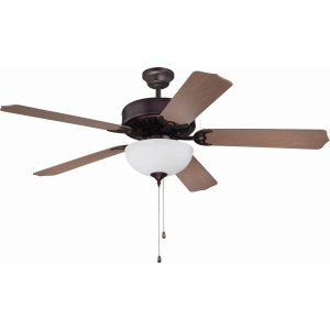 Ellington Fans ELF E201OB Pro 201 52 Ceiling Fan Motor only with Optional Light