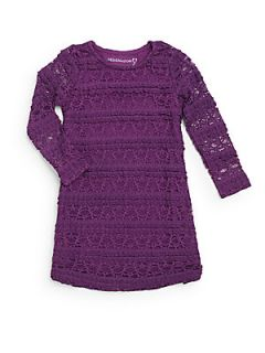 Toddlers & Little Girls Long Sleeve Lace Dress
