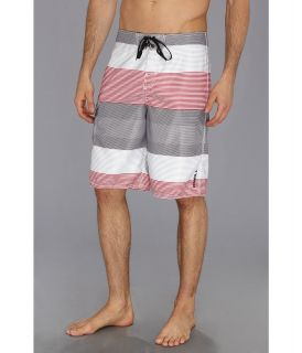 ONeill Kingston In Line Boardshort Mens Swimwear (Red)