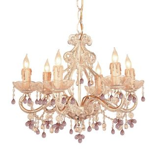 Crystorama Paris Flea Market Mini Chandelier   18W in. Champagne Multicolor