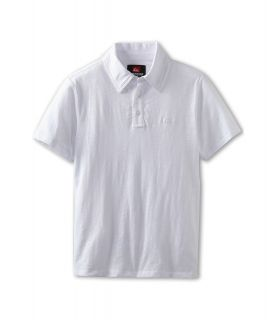 Quiksilver Kids Grab Bag 3 S/S Polo Boys Short Sleeve Pullover (White)