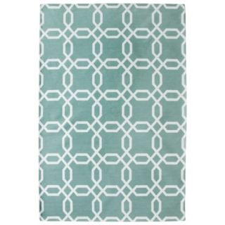Room 365 Geometric Area Rug   Surf (7x10)
